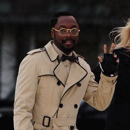 Will.i.am at London Fashion Week