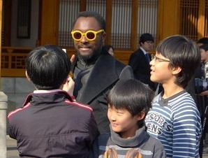 Will.i.am in Korea