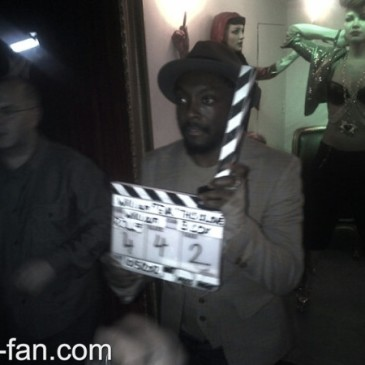 Will.i.am is shooting new video