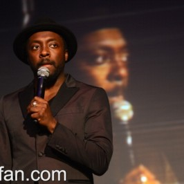 will.i.am at The Clinton Foundation Millennium event