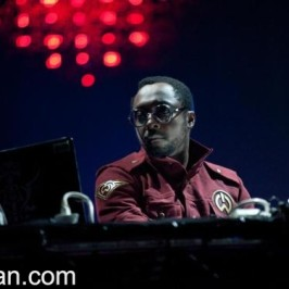 will.i.am performed with David Guetta in Alexandra Palace
