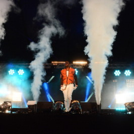 will.i.am performed at Hackney Weekend