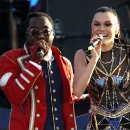 will.i.am peerformed at The Diamond Jubilee
