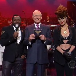 will.i.am on Late Show with David Letterman
