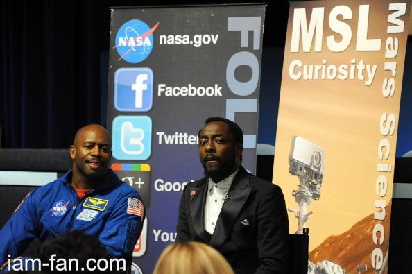 will.i.am at NASA Event