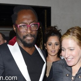 will.i.am dines with Cheryl Cole