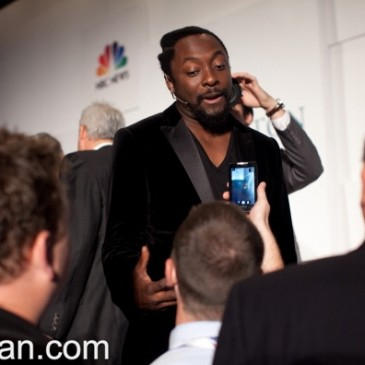 will.i.am at Huffington Post event