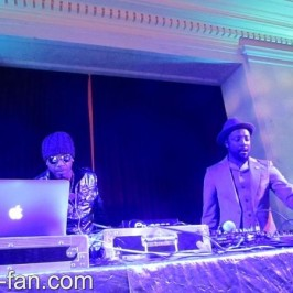 will.i.am performed at benefit event