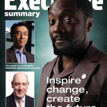 will.i.am on the cover of IBC magazine