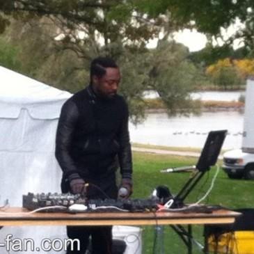 will.i.am DJing in Denver