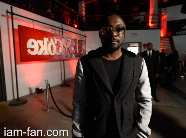 will.i.am at the EKOCYCLE Launch