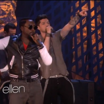 will.i.am performed on The Ellen show