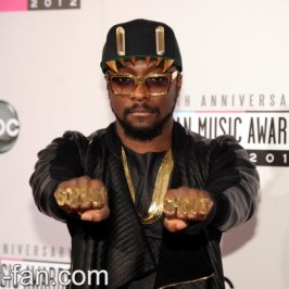 will.i.am at the American Music Awards
