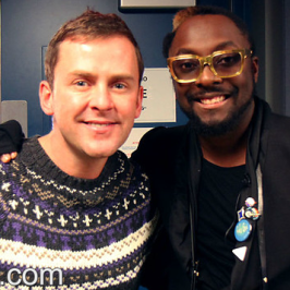 will.i.am on BBC Radio 1