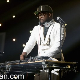 will.i.am performed at Jingle Ball