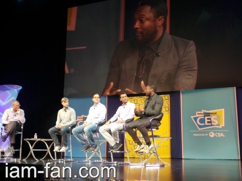 will.i.am at Consumer Electronics Show