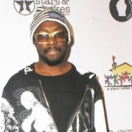 Will.i.am at Stars & Strike tournament