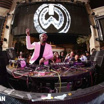 will.i.am performed at XS Las Vegas