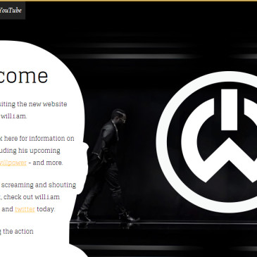 will.i.am´s new official website