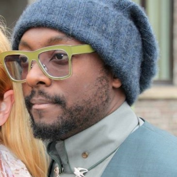 will.i.am arrives at PRO7 in Cologne