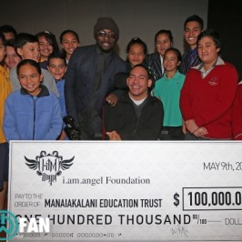 will.i.am donates $100, 000 to Manaiakalani Trust