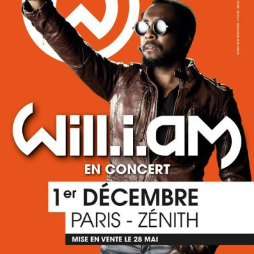 will.i.am will perform at Zenith