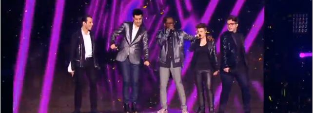 will.i.am performed on The Voice France