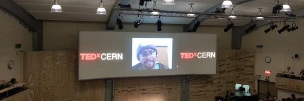 will.i.am participates in TEDxCERN