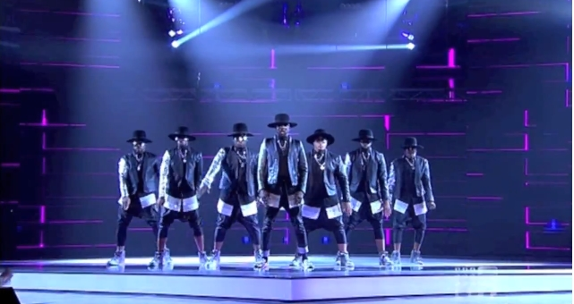 will.i.am performed on The Voice Australia