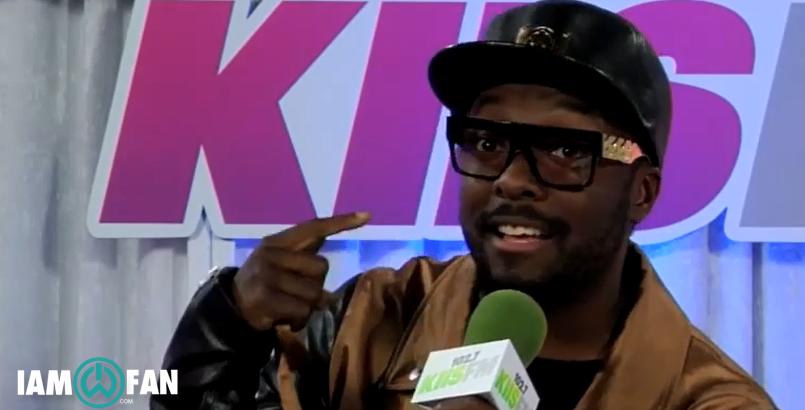 Interview for Kiis FM at Wango Tango's backstage
