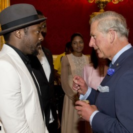 will.i.am at the Prince's Trust Job Reception