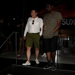 will.i.am goes to dinner with PSY