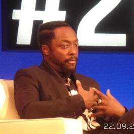 will.i.am attended Good Summit 2013