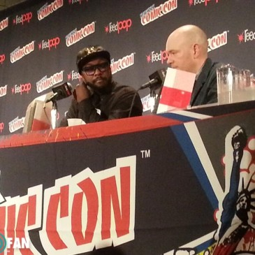 will.i.am attended Comic Con