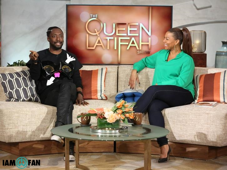 will.i.am on The Queen Latifah show