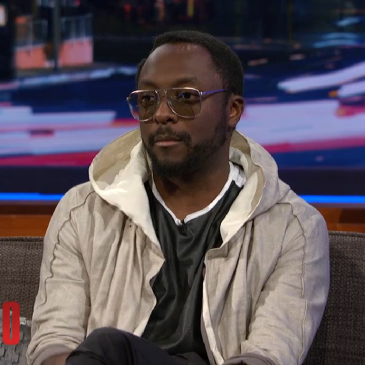 will.i.am on the Arsenio Hall show