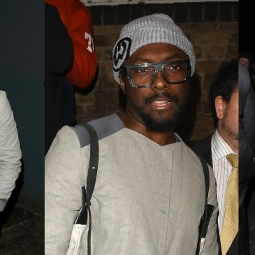 will.i.am leaving the Arts club