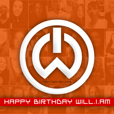 Happy Birthday will.i.am!