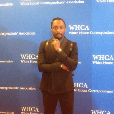 Will.i.am at the WHCA 2014