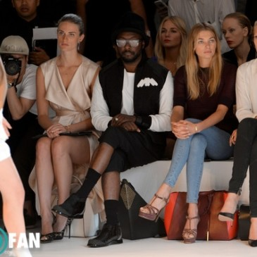 will.i.am at the New York Fashion Week