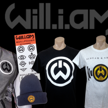 Official will.i.am Merchandise Online Store Now Open!