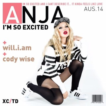 "New Song: ""I'm So Excited"" by Anja Nissen feat. will.i.am & Cody Wise"