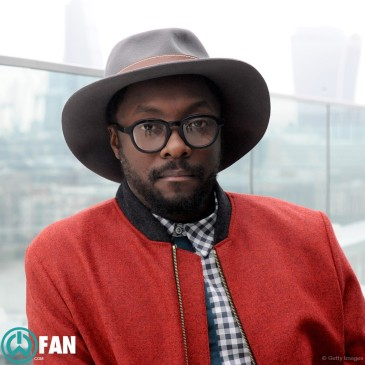 "will.i.am at the launch of season 4 of ""The Voice UK"""