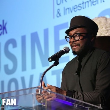 will.i.am received The 2015 BritWeek UKTI Business Innovation Award