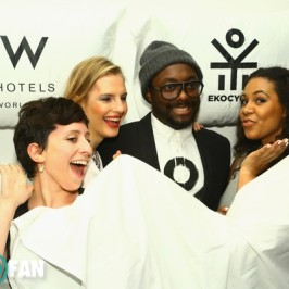 EKOCYCLE + W hotels launch event