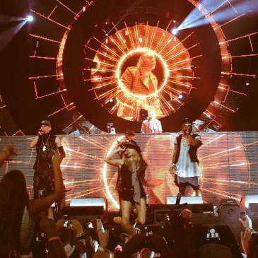 "Black Eyed Peas At Coachella 2015 – New Song ""Awesome"""