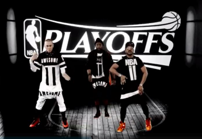 Black Eyed Peas' new song in NBA commercial