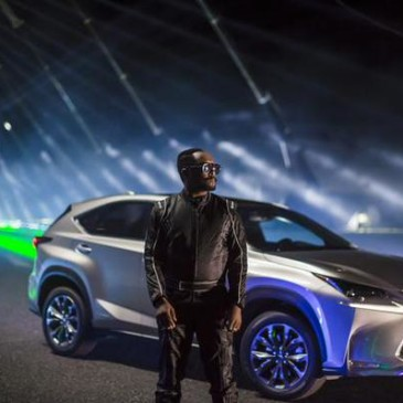 Lexus NXonTrack film starring will.i.am