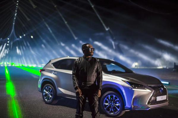 Lexus NXonTrack film starring will.i.am