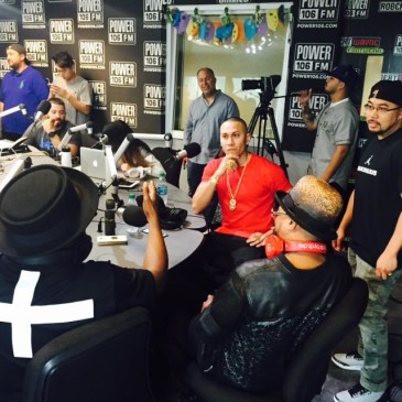 BEP on Power 106